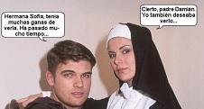 La monja y el cura XXX